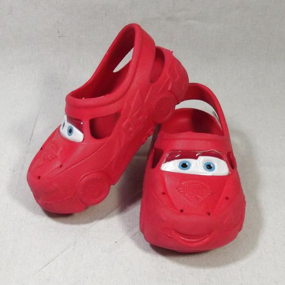 dd8fb5b8e71d Disney Other - Disney Lightning McQueen Water Clogs Sandals 7 8
